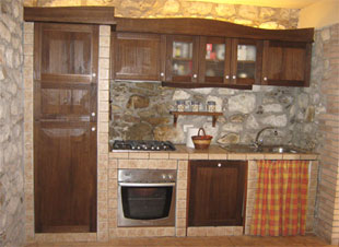 Lavagna da cucina: Cucina per tavernetta muratura